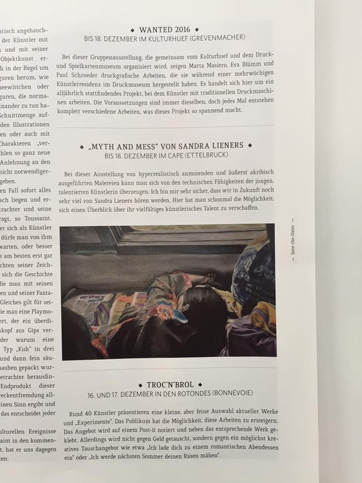 myth and mess von sandra lieners | wortex | december 10th '16 | LUX