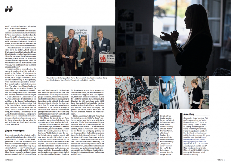 cover story | telecran | LUX