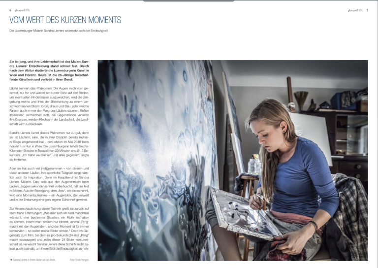 vom wert des kurzen moments | glanzvoll magazine | november 24th '16 | GER